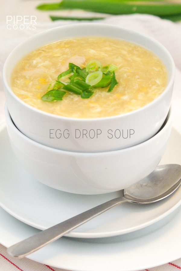 Egg Drop Soup Dinner Recipe