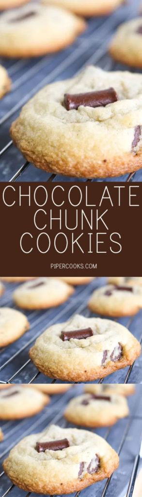 Chocolate Chunk Cookies | PiperCooks