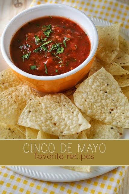 Piper Cooks Salsa recipe for Cinco de Mayo
