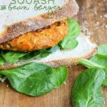 Butternut Squash & Bean Burger | PiperCooks