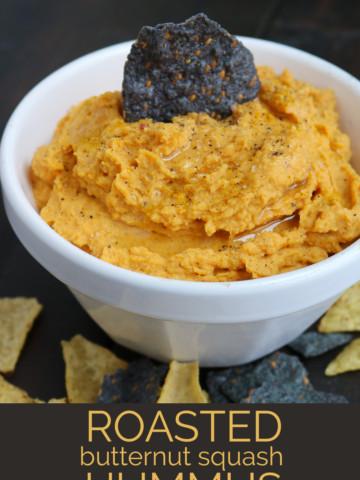 Butternut Squash Hummus | PiperCooks