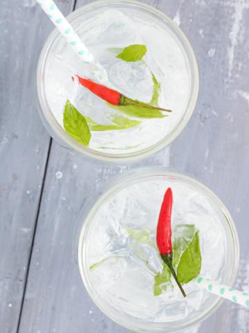 Thai Inspired Vodka Cocktail | PiperCooks