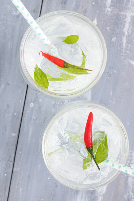 Thai Inspired Vodka Cocktail | PiperCooks