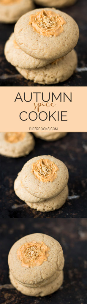 Autumn Spice Cookie - Pipercooks.com