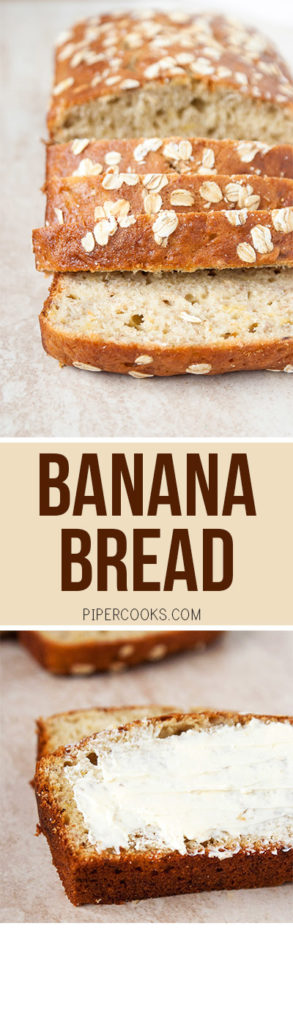 Banana Bread - Pipercooks.com