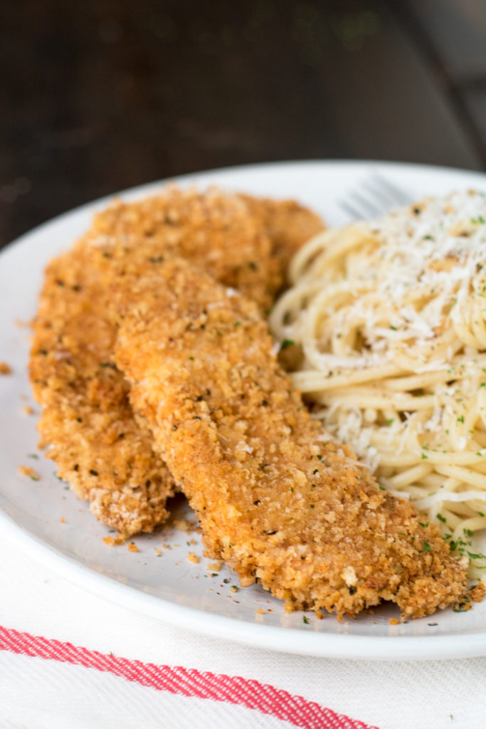 Chicken Strips with Panko and Smoked Paprika PiperCooks