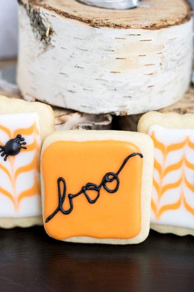 Halloween Sugar Cookies PiperCooks.com