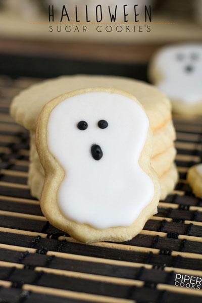 Halloween Sugar Cookies PiperCooks