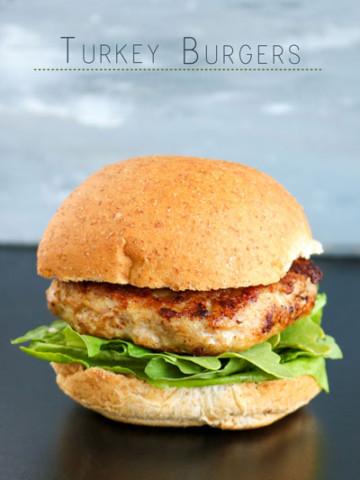 Turkey Burgers PiperCooks.com
