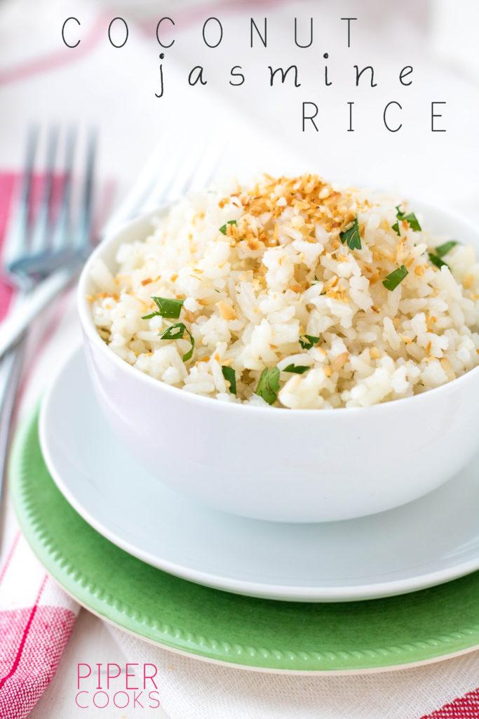 Coconut Jasmine Rice - PiperCooks