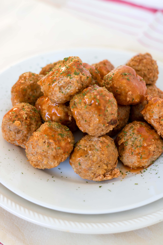 Buffalo Turkey Meatballs   PiperCooks.com