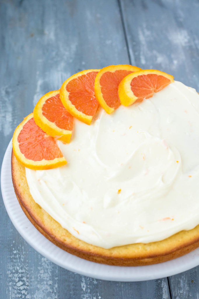 how to make orange icing