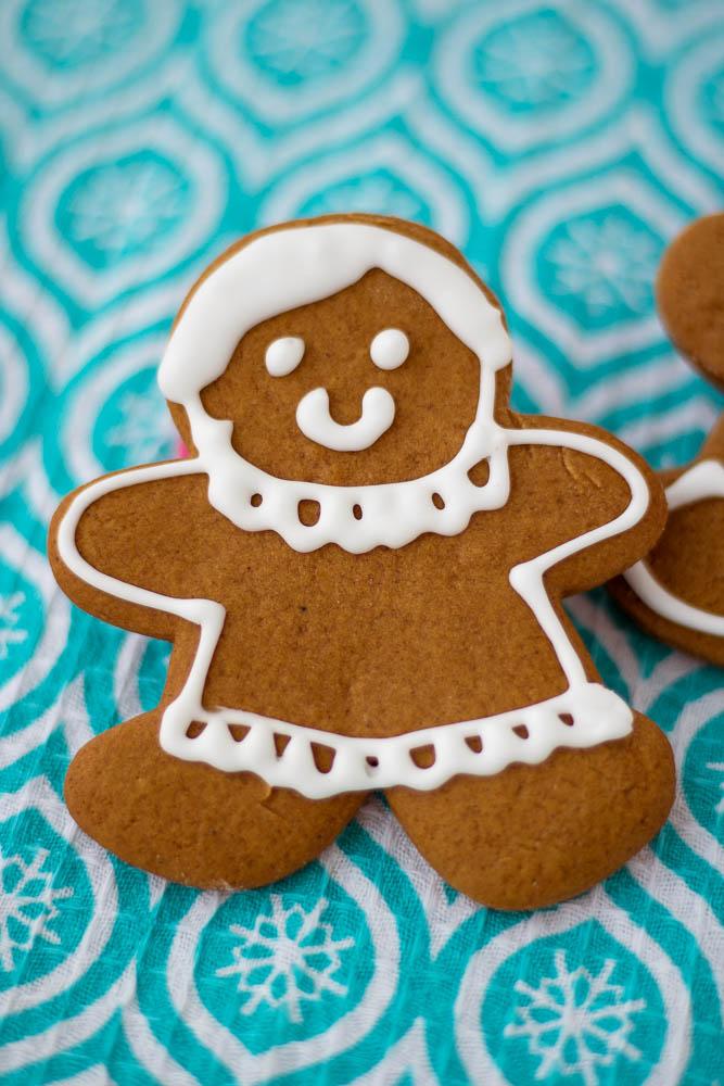 Gingerbread Men Cookies | PiperCooks