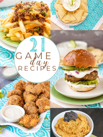 21 Gameday Recipes for your Super Bowl Party   Pipercooks.com