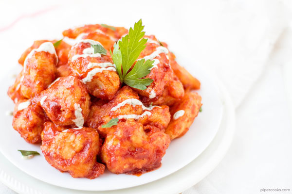 BBQ Chicken Bites | PiperCooks