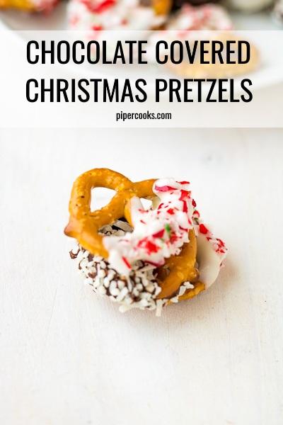 Christmas Chocolate Bark with Sprinkles on top
