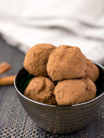 Mexican Chocolate Truffles – PiperCooks