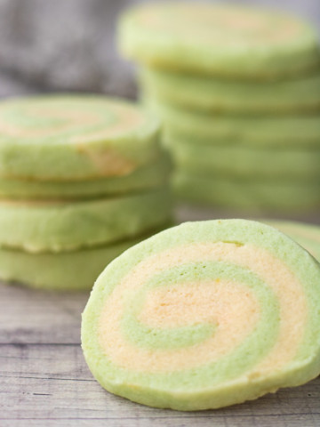 Mint Pinwheel Cookies – PiperCooks