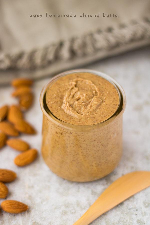 Easy Homemade Almond Butter - PiperCooks