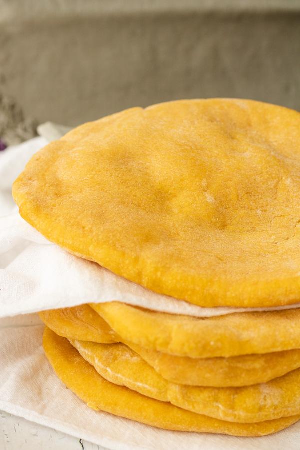 Sweet Potato Pita Bread - PiperCooks