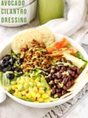 Avocado Cilantro Salad Dressing | PiperCooks