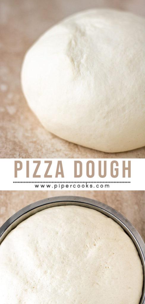 Homemade Pizza Dough - PiperCooks