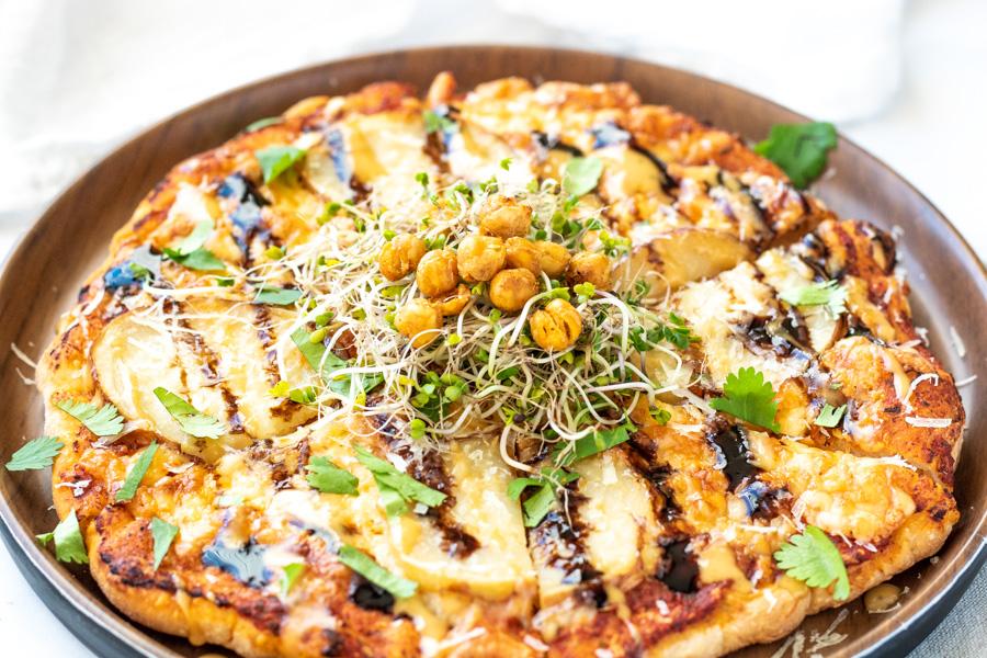 Potato Pizza with a Balsamic Glaze | PiperCooks