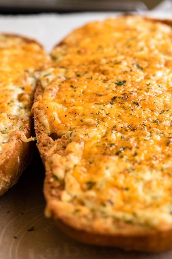 Cheesy Garlic Bread - PiperCooks