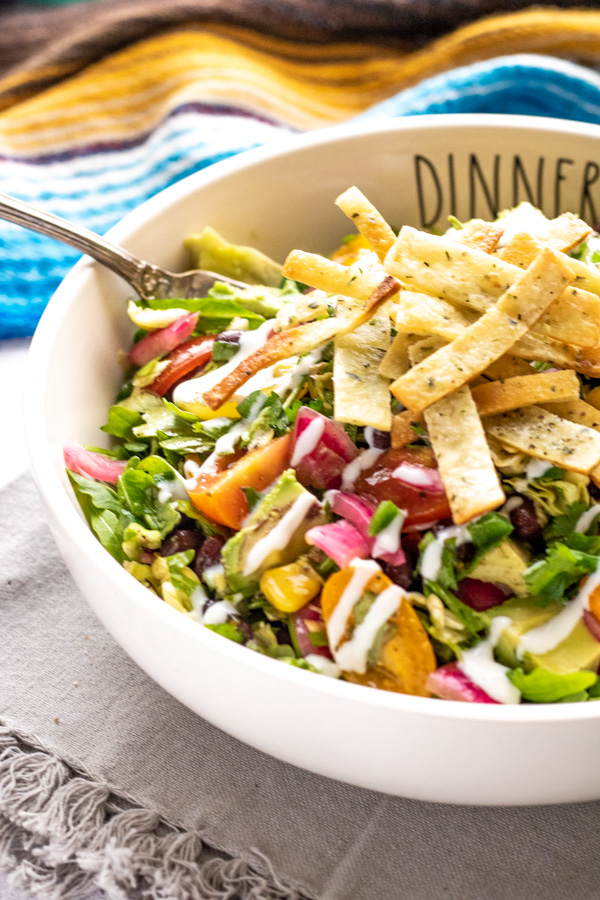 Mexican Chopped Salad - PiperCooks