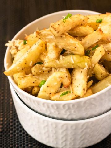Parmesan Garlic Fries - PiperCooks