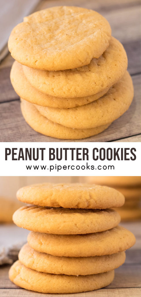 Classic Peanut Butter Cookies - PiperCooks