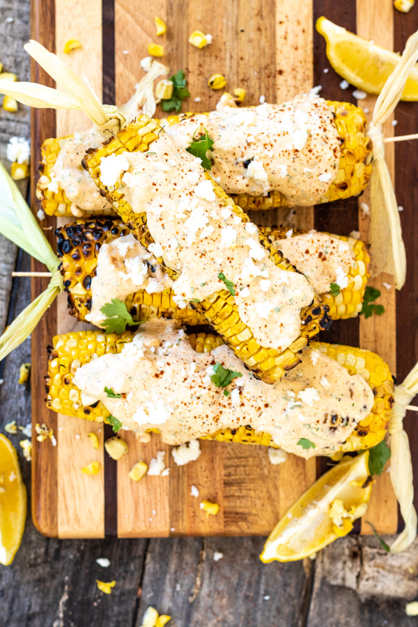 Mexican Street Corn - Elote | PiperCooks