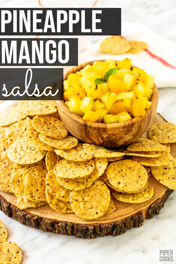 Pineapple Mango Salsa | PiperCooks