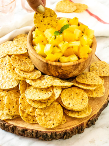 Pineapple Mango Salsa | PiperCooks