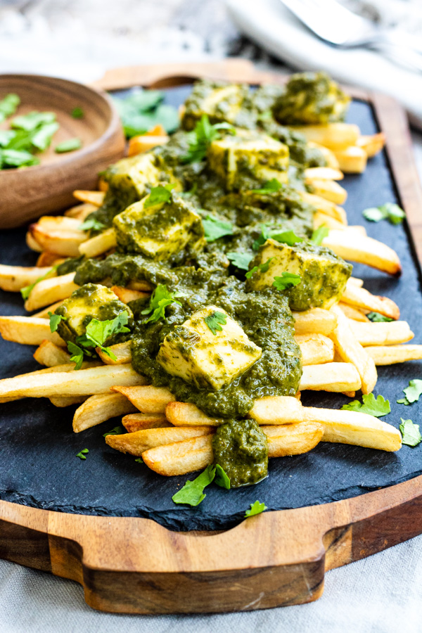Palak Paneer Loaded French Fries | PiperCooks