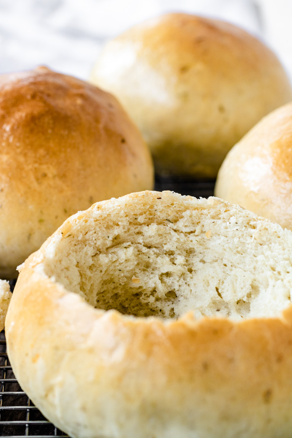 Homemade Bread Bowls for Soup