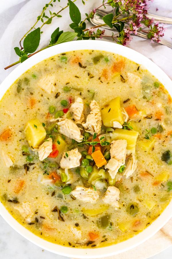 Chicken Pot Pie Soup | PiperCooks