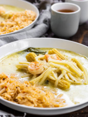 Thai Green Curry Soup with Shrimp | PiperCooks