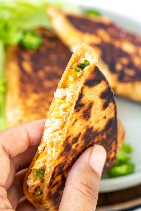 Chicken Jalapeno Popper Grilled Burrito