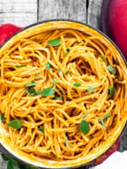 One-Pot Chipotle Pumpkin Pasta