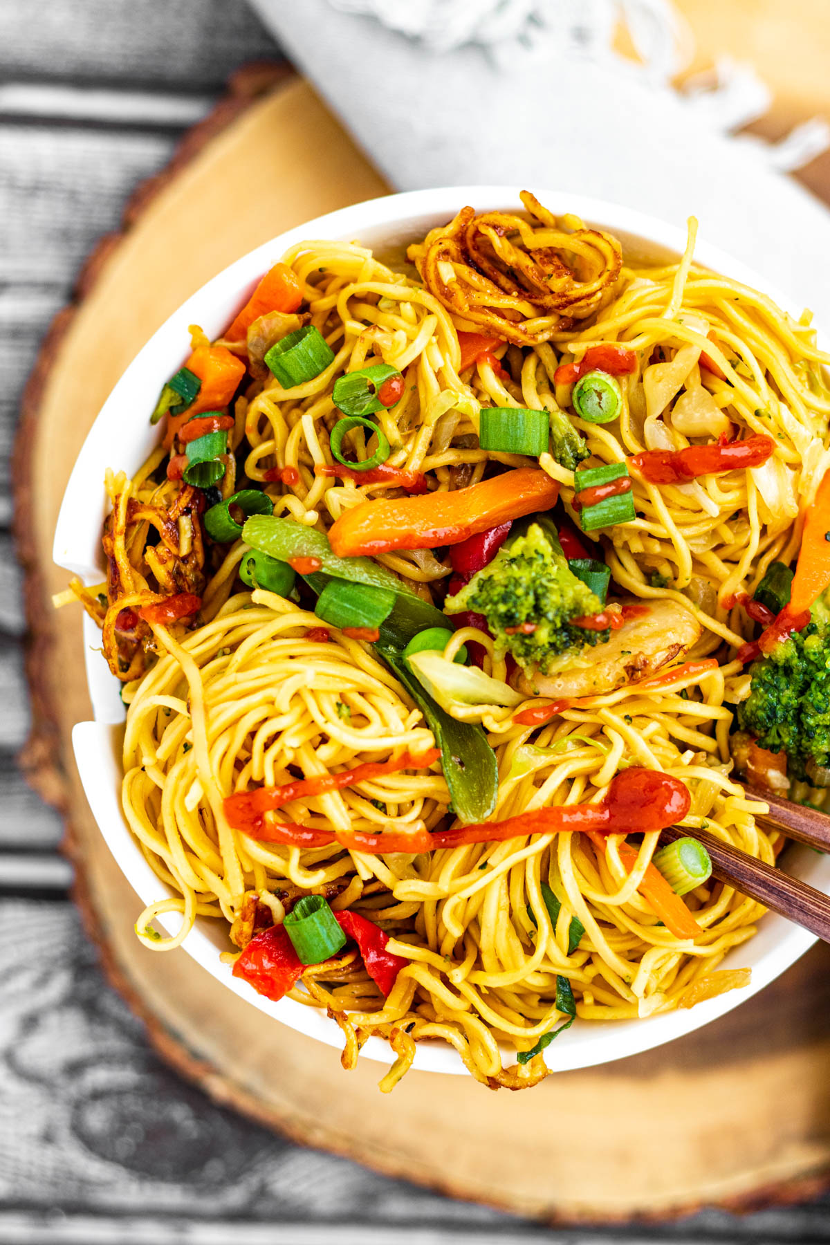 Easy Vegetable Chow Mein Piper Cooks