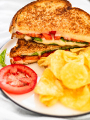 Caprese Grilled Cheese Sandwich
