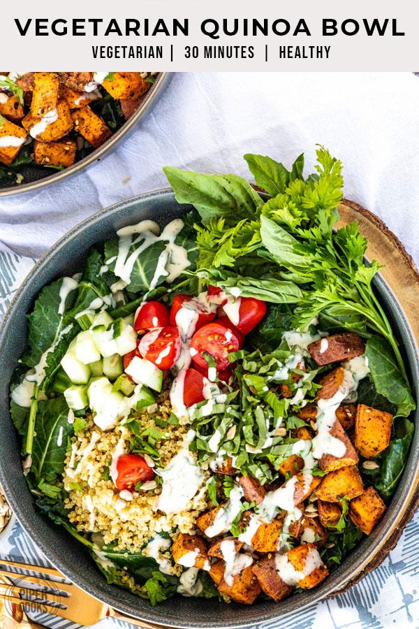 Vegetarian Quinoa Bowl | PiperCooks