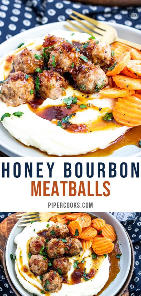 Honey Bourbon Meatballs