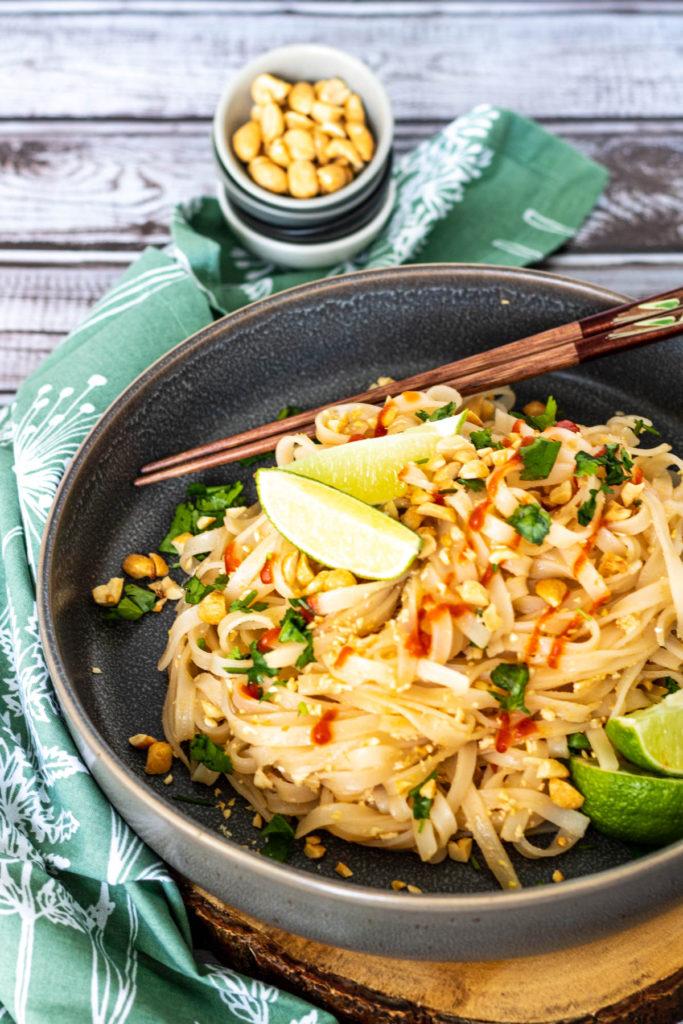 Pad Thai with Tofu