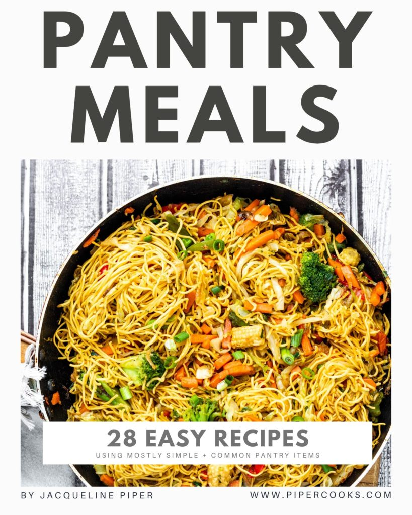 28 Pantry Meals - Ebook Cover