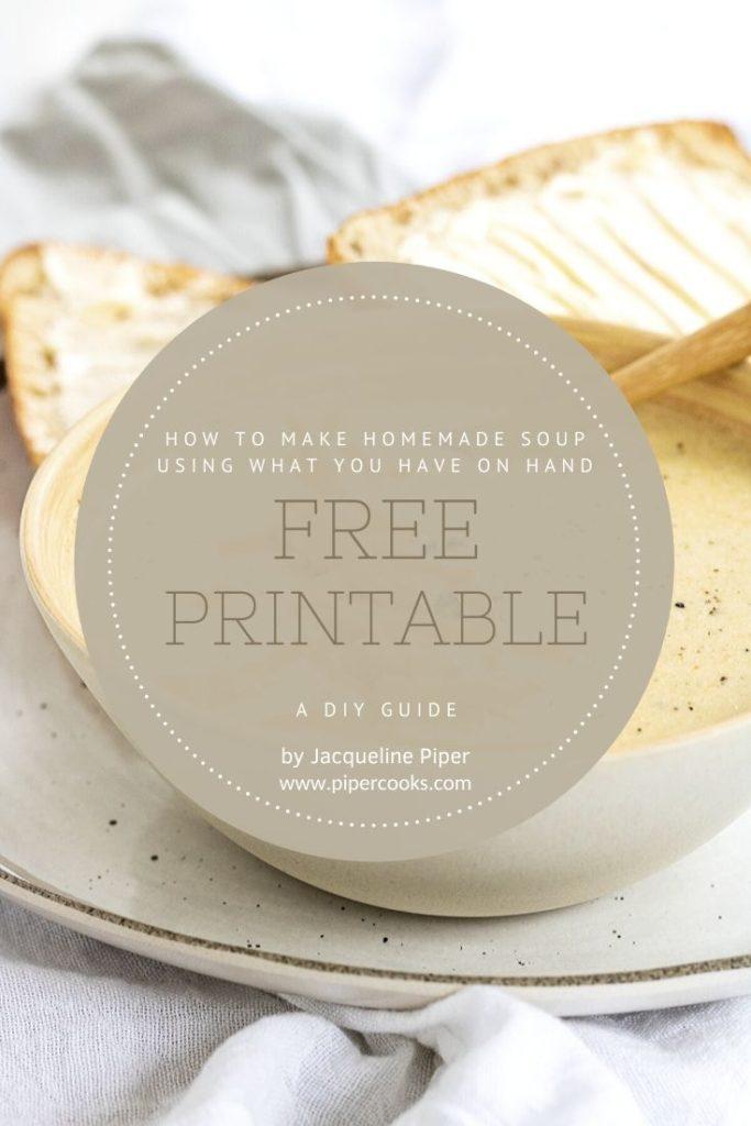 How to Make Homemade Soup Ebook