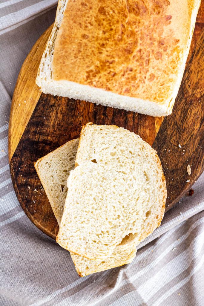 Soft + Fluffy White Bread