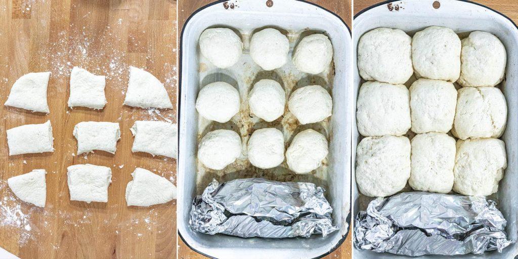 Soft + Fluffy White Bread Process Photos