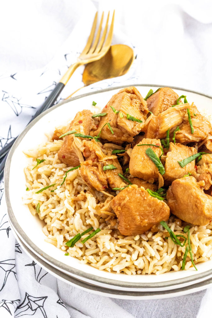 Instant Pot Bourbon Chicken